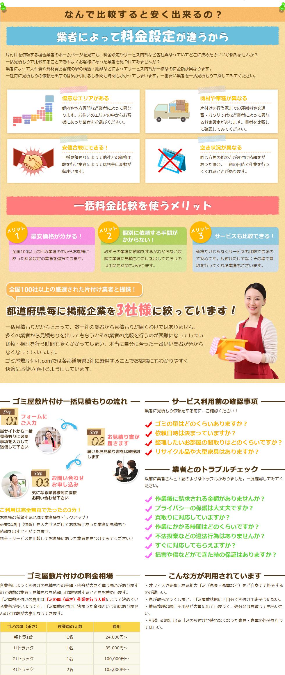 徳島県のゴミ屋敷片付け一括お見積もり